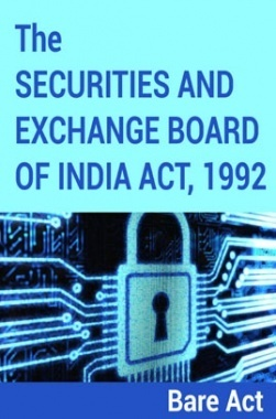 The Securities and Exchange Board of India Act, 1992