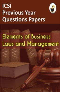 ICSI Elements of Business Laws and Management Question Paper