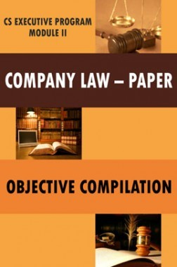 Company Law - Paper Objective Compilation