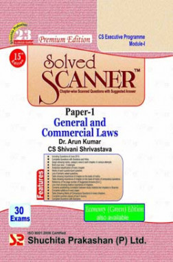 ICSI Solved Scanner General and Commercial Laws Paper-1