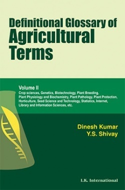 Definitional Glossary of Agricultural Terms Volume II