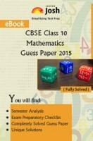 CBSE Class 10th Mathematics Solved Guess Paper SA-II 2015