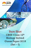 CBSE Class 12th Biology Solved Guess Paper 2016 (Set-I)