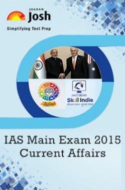 IAS Main Exam 2015 Current Affairs