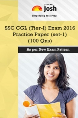 SSC CGL Tier-I Exam 2016 Practice Paper (Set-1)