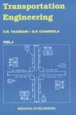 Transportation Engineering Vol. I eBook By Vazirani and Chandola