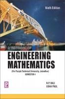 A Text book of Engineering Mathematics sem-I (P.T.U.Jalandhar) By N.P.Bali, Usha Paul