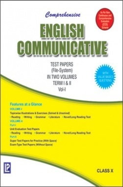 Comprehensive English Communicative Class-X Term I & II Vol-I & II