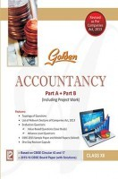 Golden Accountancy Class XII (New Edition)