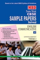 MBD Sample Paper English Communicative  10 Term 1 CBSE