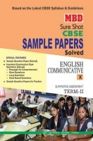 MBD Sample Paper English Communicative  10 Term 2 CBSE