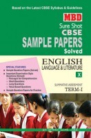 MBD Sample Paper English Language And Literature 10 Term 1 CBSE