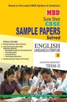 MBD Sample Paper English Language And Literature 10 Term 2 CBSE