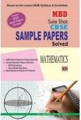MBD Sample Paper Math 12  CBSE (English Medium)