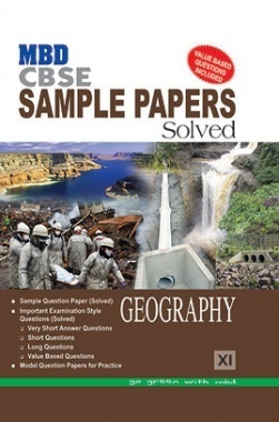 MBD Sample Paper Solved Geography 11 CBSE (English Medium) 2017