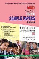 MBD Sample Paper English Language And Literature 9 Term 2 CBSE