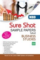 MBD Sure Shot CBSE Sample Papers Solved Class 12 Business Studies 2017