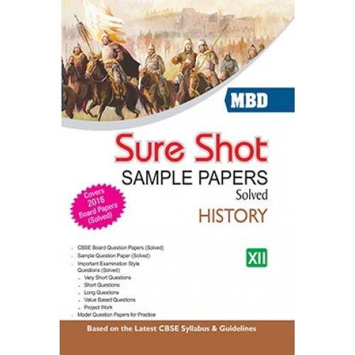 Cbse Sample Question Papers For Class 12 History - oswaal