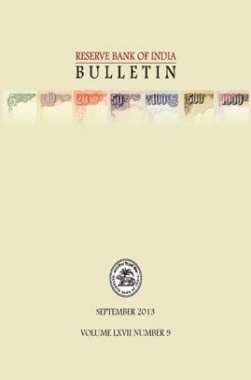 RBI Bulletin September 2013