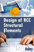 Design of RCC Structural Elements Notes eBook