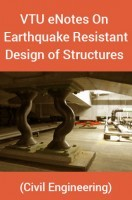 VTU eNotes On Earthquake Resistant Design of Structures (Civil Engineering)
