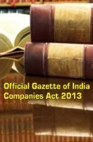 Official Gazette of India Companies Act 2013 eBook