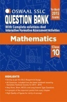 Oswaal SSLC Question Bank With Complete Solutions For Class 10th Mathematics