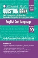 Oswaal SSLC Question Bank With Complete Solutions For Class 10th English 2nd Language