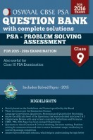 Oswaal CBSE CCE Question Bank with complete solutions  Problem Solving Assessment(PSA) For Class 9 Term I April-Sep 2015