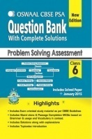 Oswaal CBSE CCE Question Bank For Class 6 Term I and Term II Problem Solving Assessment
