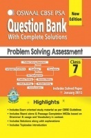Oswaal CBSE PSA Question Bank For Class 7 Term I and Term II Problem Solving Assessment