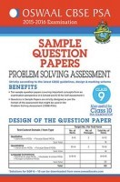 Oswaal CBSE CCE Sample Question Papers For Class 9 Term I Apr to Sept 2015  Problem Solving Assessment(PSA)
