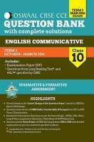 Oswaal CBSE CCE Question Bank With Complete Solutions For Class 10 Term II (Oct-Mar 2016 ) English Communication