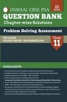 Oswaal CBSE- (PSA) Question Bank With Complete Solutions For Class 11 Problem Solving Assessment