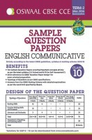 Oswaal CBSE CCE Sample Question Papers Term 2 ( March 2016 Examination) English Communicative For Class 10