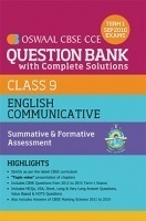 Oswaal CBSE CCE Question Bank With Complete Solutions For Class 9 Term I (April to Sep 2016) English Communicative