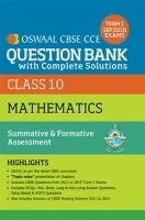 Oswaal CBSE CCE Question Bank With Complete Solutions For Class 10 Term I (April to Sep 2016) Mathematics
