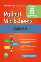 Oswaal CBSE CCE Pullout Worksheets English for Class 8 (Term 1 And 2)