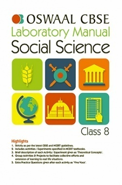 Oswaal CBSE Laboratory Manual For Class 8 Social Science