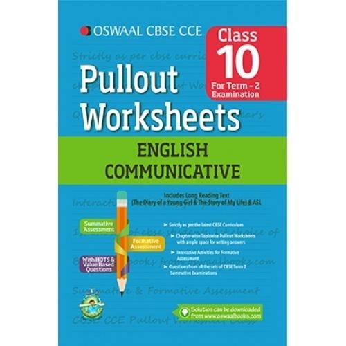 English grammar worksheets for class 10 cbse