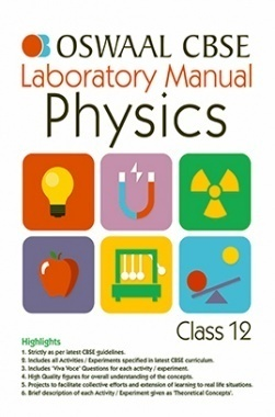 Oswaal CBSE Laboratory Manual For Class 12 Physics