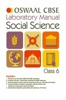 Oswaal CBSE Laboratory Manual For Class 6 Social Science