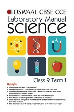 Oswaal CBSE CCE Laboratory Manual For Class 9 (Term 1) science