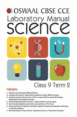 Oswaal CBSE CCE Laboratory Manual For Class 9 (Term 2) science