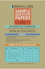 Oswaal CBSE Sample Question Papers For Class 11 Physical Education (For March 2017 Examination)