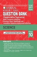 Oswaal KSEEB SSLC Question Bank with Complete Solution & Interactive Formative Assessment Activities For Class10 Science (For April 2017 Exams)