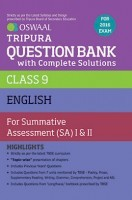 Oswaal Tripura Question Bank with Complete Solutions Class 9 English For Summative Assessment (SA) I And II