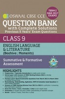Oswaal CBSE CCE Question Bank With Complete Solutions For Class 9 Term II (October to March 2017) English Language & Literature