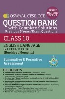 Oswaal CBSE CCE Question Bank With Complete Solutions For Class 10 Term II (October to March 2017) English Language & Literature