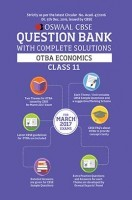 Oswaal CBSE CCE Question Bank Class 11 Open Text Based Assessment-OTBA Economics (March 2017 Exams)